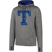 '47 Men's Texas Rangers Grey Pullover Hoodie