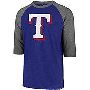 '47 Men's Texas Rangers Club Three-Quarter Sleeve Shirt