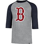 '47 Men's Boston Red Sox Club Three-Quarter Sleeve Shirt