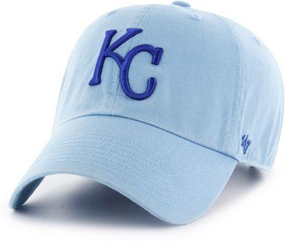 e08000f2f2429 47 Men s Kansas City Royals Clean Up Blue Adjustable Hat