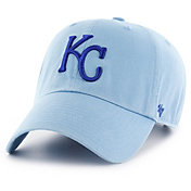 '47 Men's Kansas City Royals Clean Up Blue Adjustable Hat
