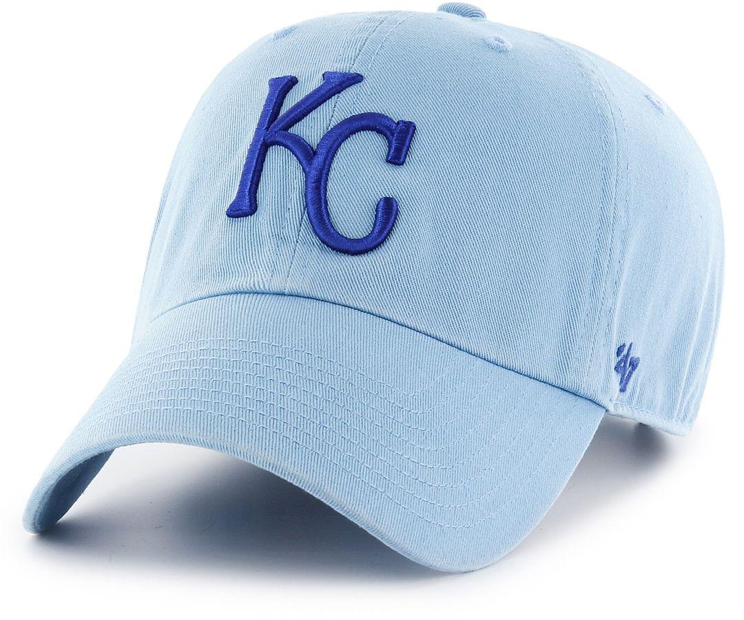 premium selection f7648 a4bd2 '47 Men's Kansas City Royals Clean Up Blue Adjustable Hat