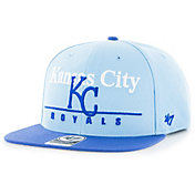 '47 Men's Kansas City Royals Rosemont Captain Adjustable Snapback Hat