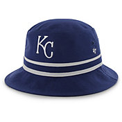 '47 Men's Kansas City Royals Striped Bucket Hat