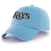 '47 Men's Tampa Bay Rays Clean Up Blue Adjustable Hat