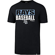 '47 Men's Tampa Bay Rays Blockout T-Shirt