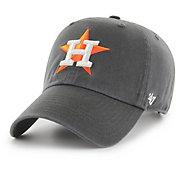 '47 Men's Houston Astros Clean Up Grey Adjustable Hat