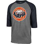 '47 Men's Houston Astros Club Three-Quarter Sleeve Shirt