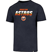 '47 Men's Houston Astros Cooperstown Logo Navy Club T-Shirt
