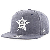 '47 Men's Houston Astros Emery Captain Adjustable Snapback Hat