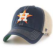 '47 Men's Houston Astros Trawler Clean Up Adjustable Hat