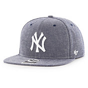 '47 Men's New York Yankees Emery Captain Adjustable Snapback Hat