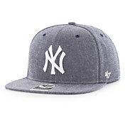 '47 Men's New York Yankees Emery Captain Adjustable Snapback Hat