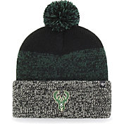 '47 Men's Milwaukee Bucks Static Black Knit Hat