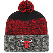 0864b52bee9b1 Product Image ·  47 Men s Chicago Bulls Static Black Knit Hat.