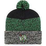 '47 Men's Boston Celtics Static Black Knit Hat