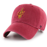 '47 Men's Cleveland Cavaliers Burgundy Clean Up Adjustable Hat