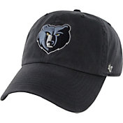 '47 Men's Memphis Grizzlies Navy Clean Up Adjustable Hat