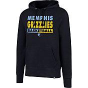 '47 Men's Memphis Grizzlies Navy Pullover Hoodie