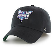 '47 Men's Charlotte Hornets Franchise Black Fitted Hat