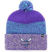 '47 Men's Charlotte Hornets Static Purple Knit Hat