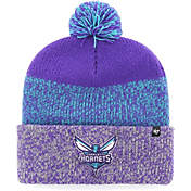 check out 41891 c29ab 47 Mens Charlotte Hornets Static Purple Knit Hat.
