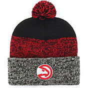 '47 Men's Atlanta Hawks Static Black Knit Hat
