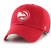 '47 Men's Atlanta Hawks Red Clean Up Adjustable Hat