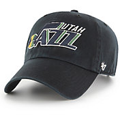 '47 Men's Utah Jazz Black Clean Up Adjustable Hat