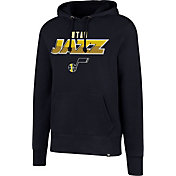 '47 Men's Utah Jazz Navy Pullover Hoodie