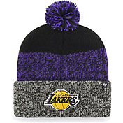 '47 Men's Los Angeles Lakers Static Black Knit Hat