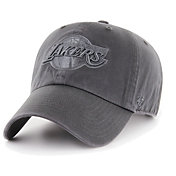 '47 Men's Los Angeles Lakers Grey Clean Up Adjustable Hat