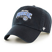 '47 Men's Orlando Magic Black Clean Up Adjustable Hat