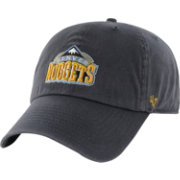 '47 Men's Denver Nuggets Navy Clean Up Adjustable Hat