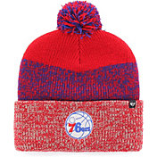 '47 Men's Philadelphia 76ers Static Red Knit Hat