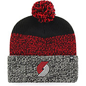 '47 Men's Portland Trail Blazers Static Black Knit Hat