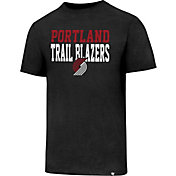 '47 Men's Portland Trail Blazers Club Black T-Shirt
