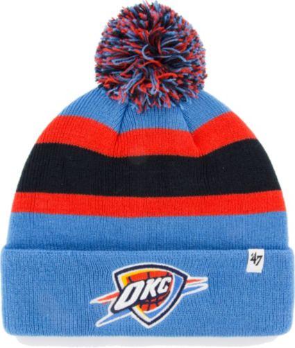 buy cheap 0322c 4ba34 ... canada 47 mens oklahoma city thunder breakaway knit hat fc7ee 8d52c