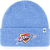 '47 Men's Oklahoma City Thunder Blue Knit Hat