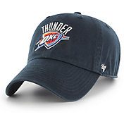 '47 Men's Oklahoma City Thunder Navy Clean Up Adjustable Hat