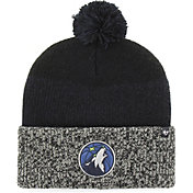 '47 Men's Minnesota Timberwolves Static Black Knit Hat
