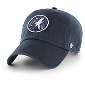 '47 Men's Minnesota Timberwolves Navy Clean Up Adjustable Hat