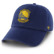 '47 Men's Golden State Warriors Royal Clean Up Adjustable Hat
