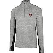 7ebcc9ad Product Image · '47 Men's Florida State Seminoles Grey Forward Microlite  Quarter-Zip Shirt. '