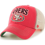'47 Men's San Francisco 49ers Tuscaloosa Clean Up Red Adjustable Hat