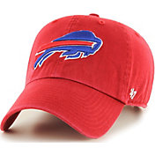 '47 Men's Buffalo Bills Clean Up Red Adjustable Hat