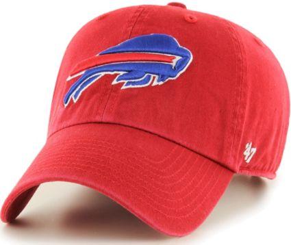 '47 Men's Buffalo Bills Clean Up Red Adjustable Hat