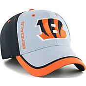 '47 Men's Cincinnati Bengals Crash Line Black Flex Fit Hat