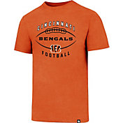'47 Men's Cincinnati Bengals Club Football Orange T-Shirt