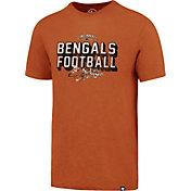 '47 Men's Cincinnati Bengals Scrum Football Legacy Orange T-Shirt